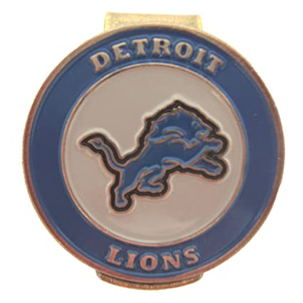 8565d252bda Image Unavailable. Image not available for. Color  Detroit Lions Golf Hat  Clip with Double Sided Ball Marker
