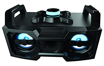 Amazoncom Sharper Image SBT3007BK Bluetooth Speaker With Lights