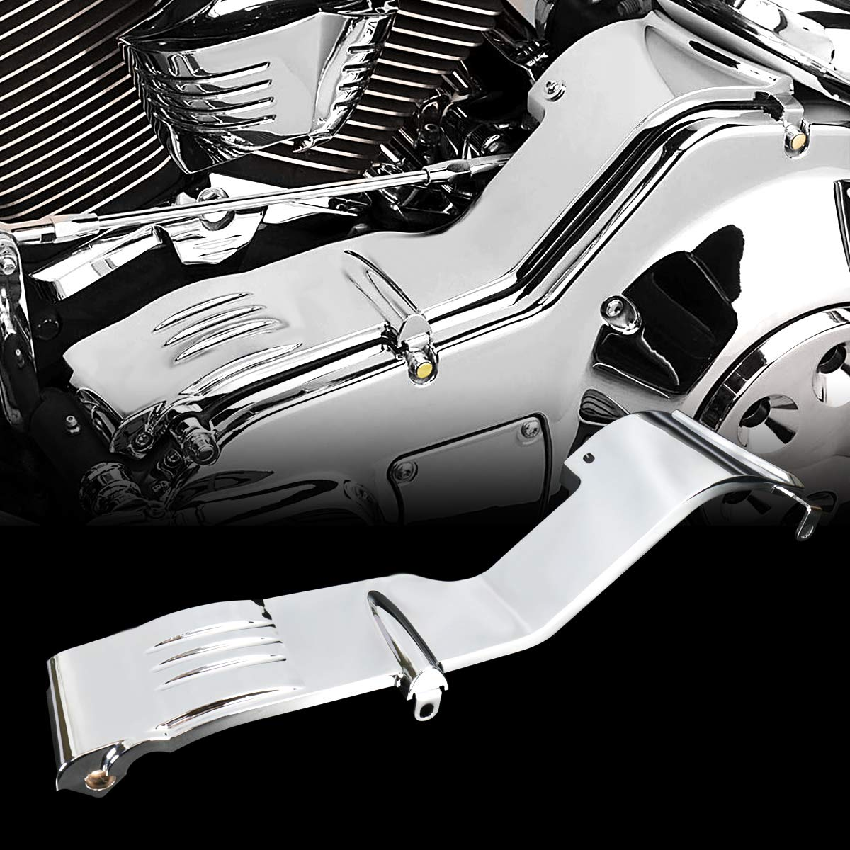 Chrome Inner Primary Covers For Harley Touring Electra Street Glide Road King FLHX FLH/T 1990-2006 Ha Zhan