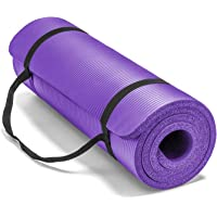 Large & Extra Thick Exercise Mat with Carrying Strap – 12mm Thick Yoga Mat –The Best of Yoga Mats & Exercise Mats on…
