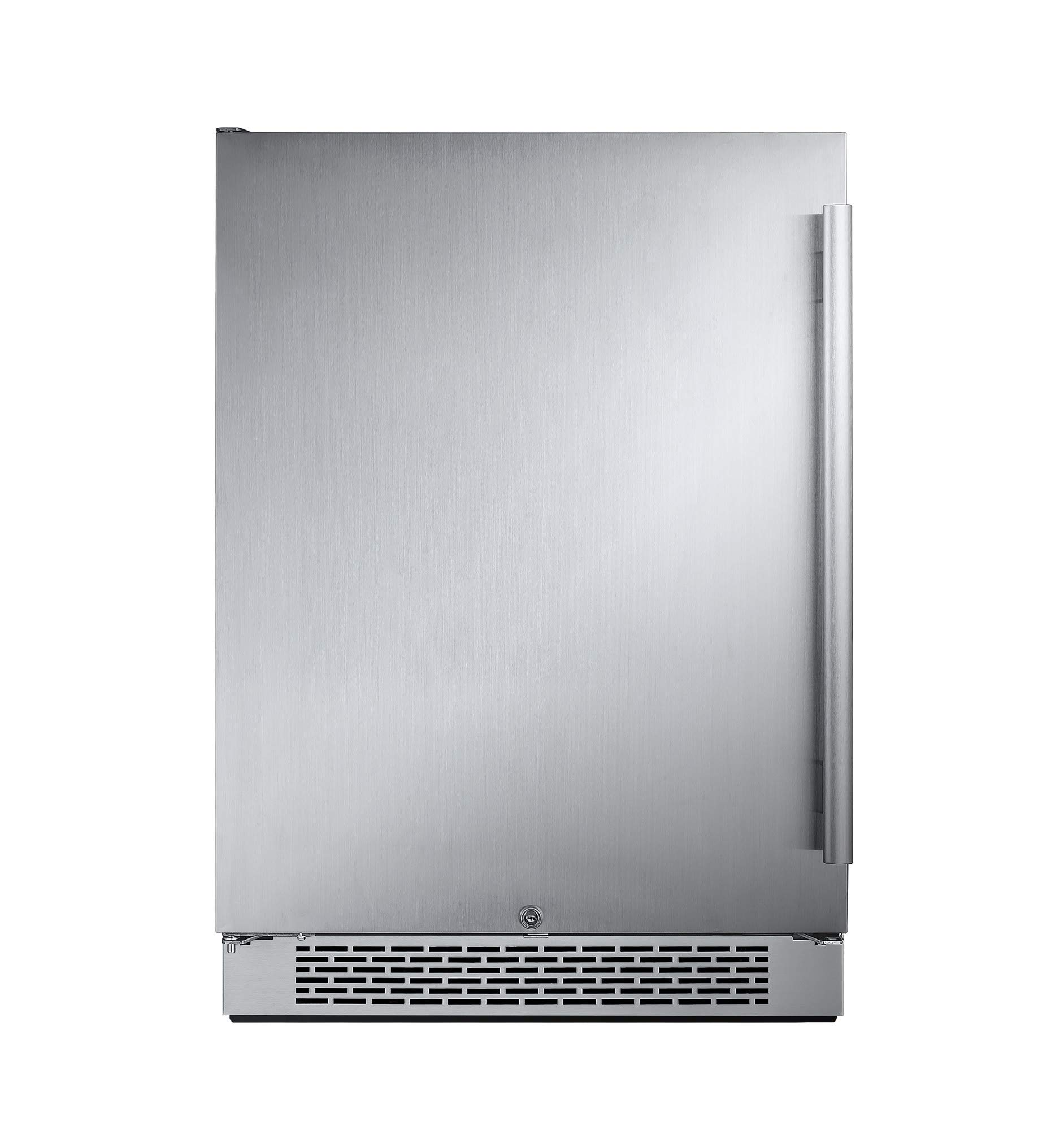Avallon AFR241SSLH 5.5 Cu Ft 24'' Built-in Refrigerator - Left Hinge by Avallon