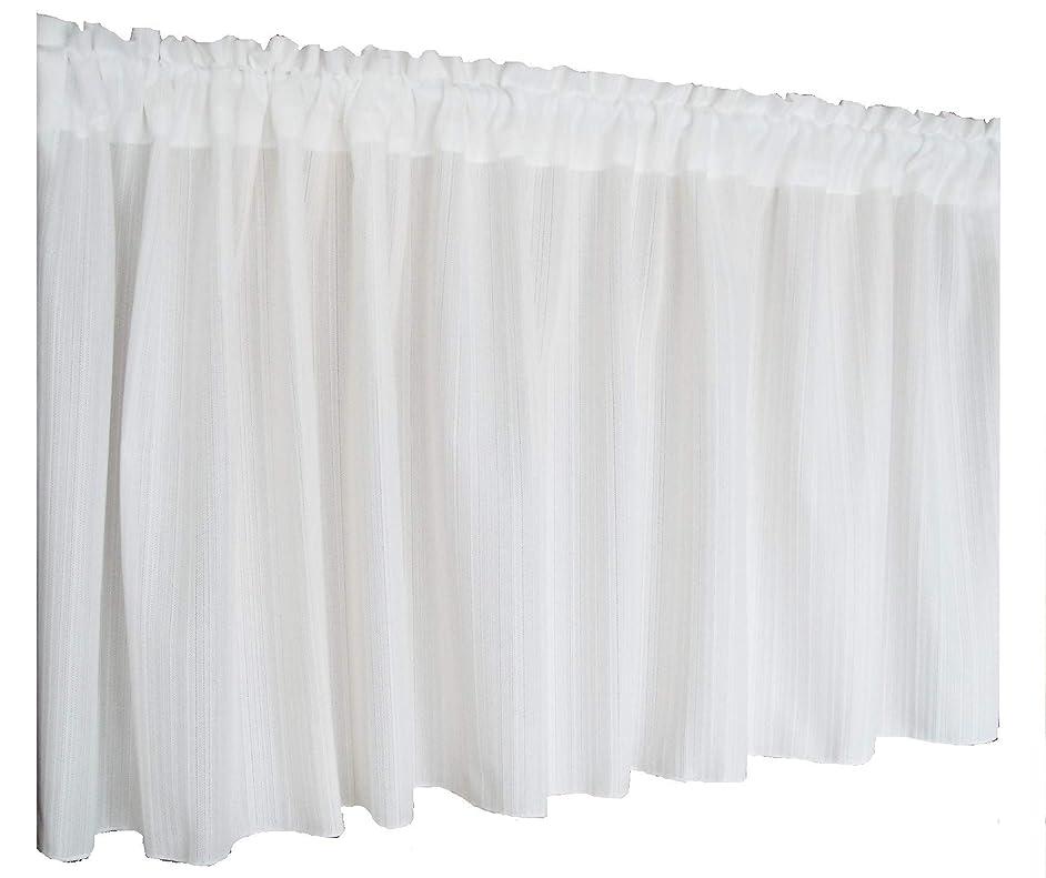 ズボン見せます決定する【風呂用 防寒 目隠し プライバシー保護 暖簾】水玉柄 ビニール製カフェカーテン140×60cm グリーン