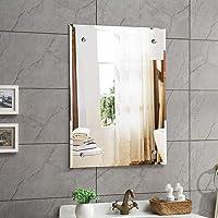 Creative Arts n Frames Frame Less Beveled Mirror Size 18 X 24 inches    Half inch CNC Beveled   