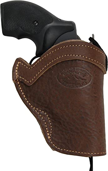 """NEW Barsony Brown Leather Western Style Holster for S/&W 22 38 357 Snub Nose 2/"""""""