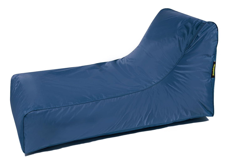 Pushbag Sitzsack Liege Stretcher Bezugstoff Oxford Navy Blau