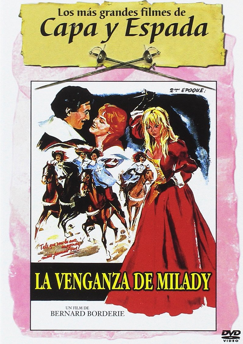 La Venganza de Milady [DVD]: Amazon.es: Gerard Barray:Mylene Demengeot, Bernard Borderie: Cine y Series TV