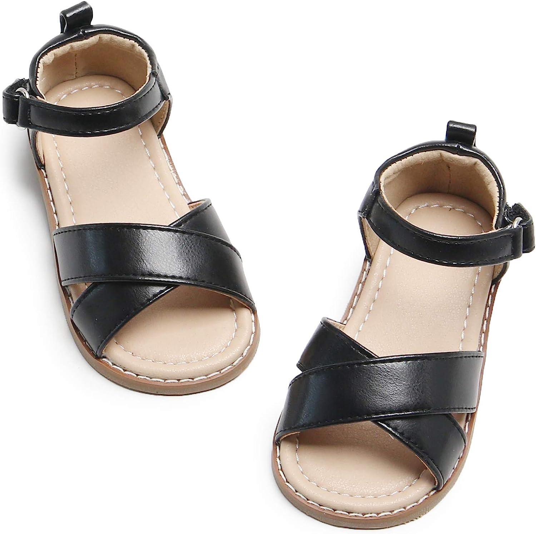 Felix /& Flora Girls Shoes Soft Rubber Princess Flat Shoes Summer Baby Girl Sandals Toddler//Little Kid