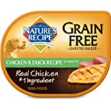 Nature's Recipe Wet Dog Food Grain Free Chicken & Duck Recipe In Broth (12 Pack), 2.75 oz