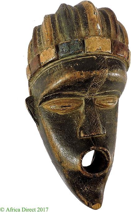 Bassa Máscara Portrait Liberia, Arte africano: Amazon.es: Hogar