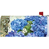 Blue Hydrangeas Mailbox Makeover - Vinyl Magnetic Cover 2593MM