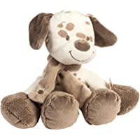 Nattou Max The Dog Cuddly Soft Toy, Brown