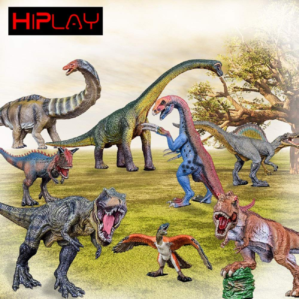 HiPlay 12 Ceratosaurus Dinosaur Toy Figure-Realistic Design with Amazing Detail Hand-Painted Dino Model HP-D032
