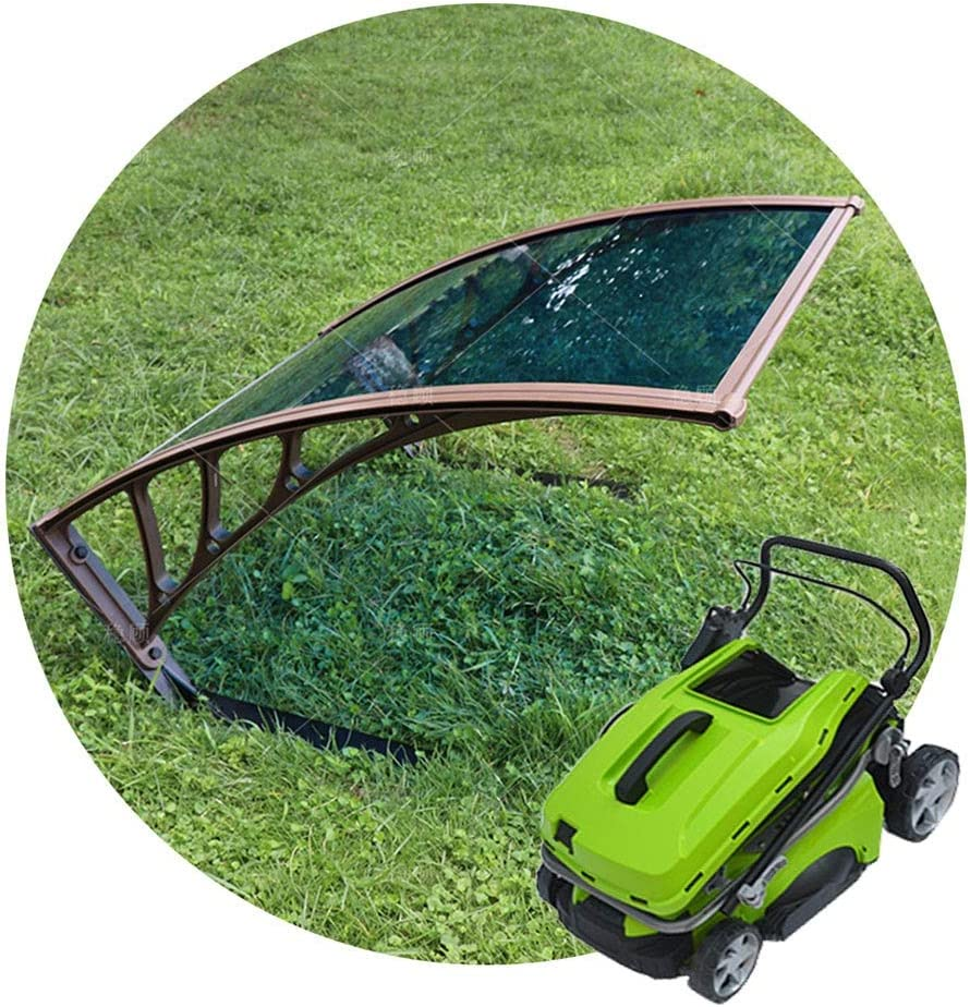 JUANJUAN Lawn Mower Shed Garden Awning, Garden Tool Shed, Rainproof and Sunproof Outdoor Roof Shelter - 80 X 102 X 45cm