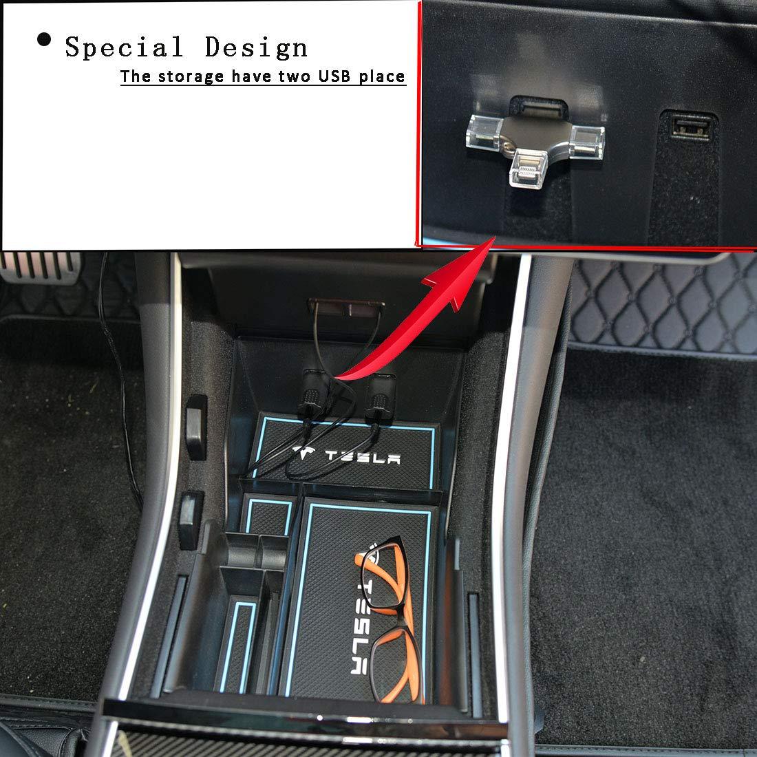 Amazon.com: Topfit para Tesla Modelo 3 consola central ...
