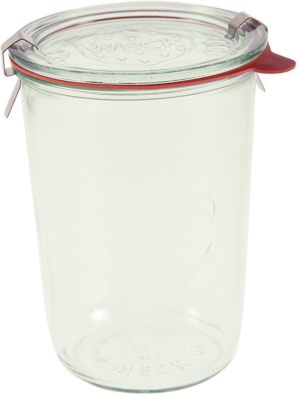 Weck 743 3/4 Mold Jar - Box of 6 713K2B3JLgnL