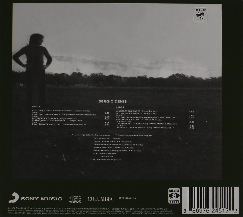 SERGIO DENIS - Sergio Denis: 1974 - Amazon.com Music