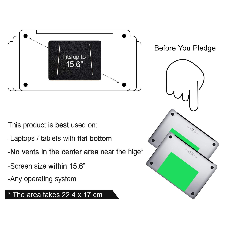 Tablets und Laptops Biz zu 15.6 (Schwarz) Air USAMS Laptop St/änder St/änder f/ür Laptop Notebook Kompatible mit MacBook H/öhe Einstellbar Laptop St/änder Halterung Pro