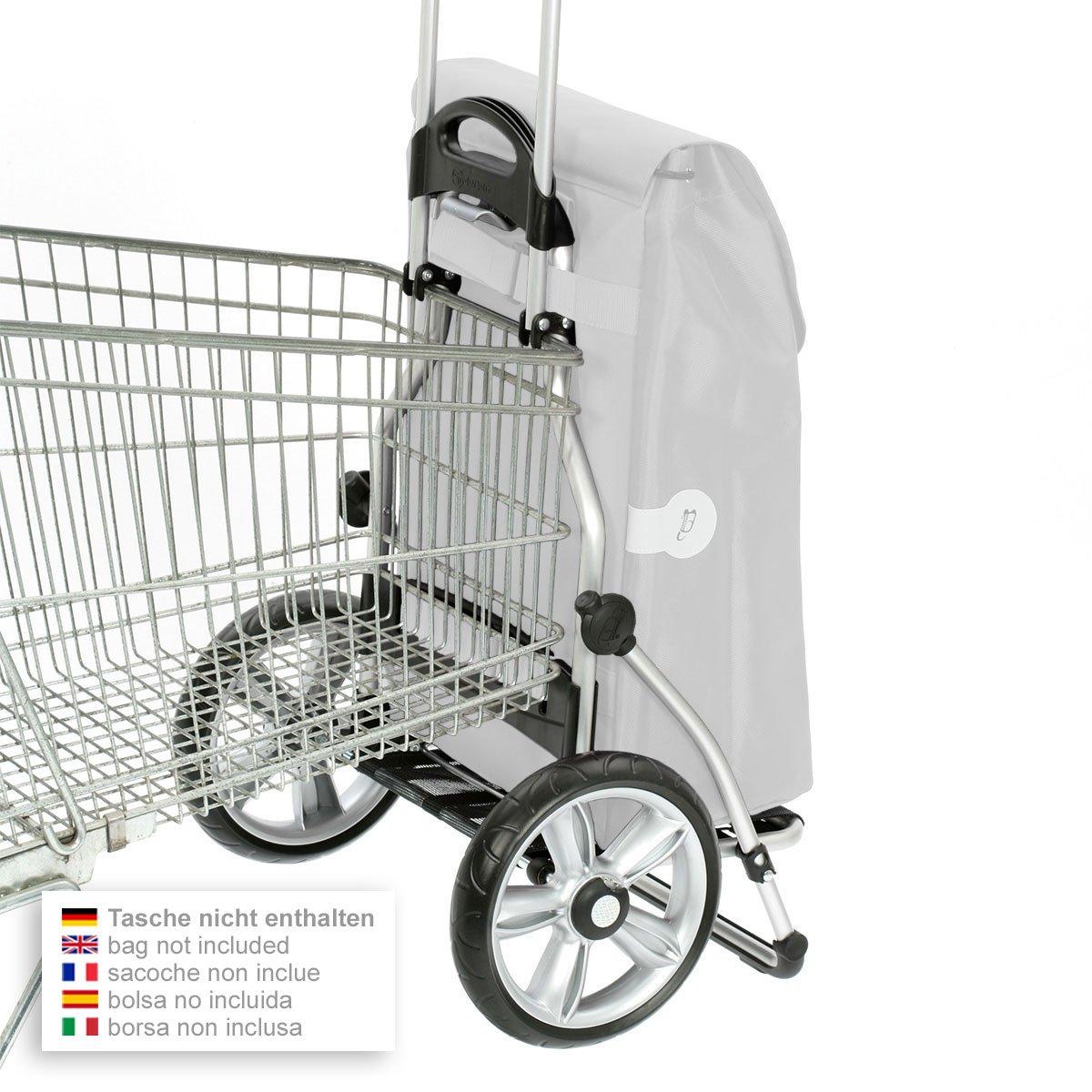 Andersen Shopper Royal mit kugelgelagertem Rad Rad Rad 25 cm und 41 Liter Tasche Kira blau mit Kühlfach B079TZK1QB Einkaufstrolleys e412ea