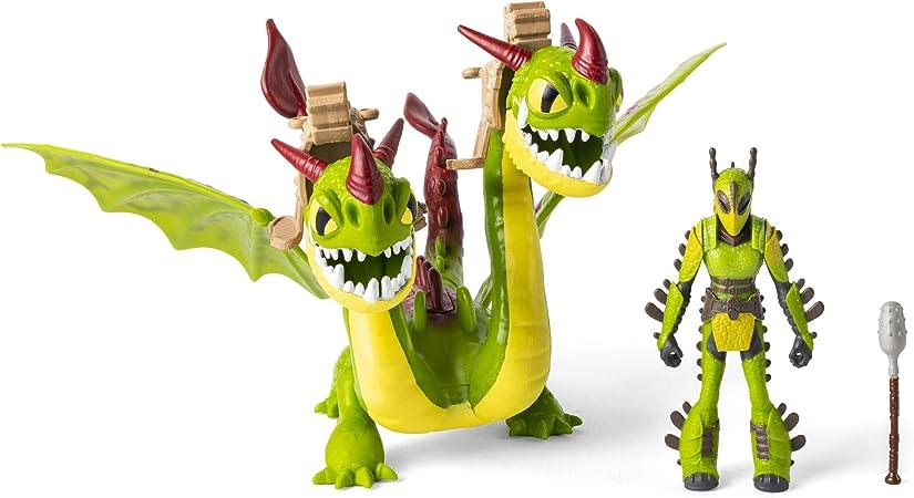 DREAMWORKS Dragons ruffnut e tuffnut con vomito e Rutto PLAYMOBIL Giocattolo