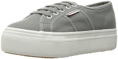 Superga Womens 2790 Platform Fashion Sneaker       Grey Sage