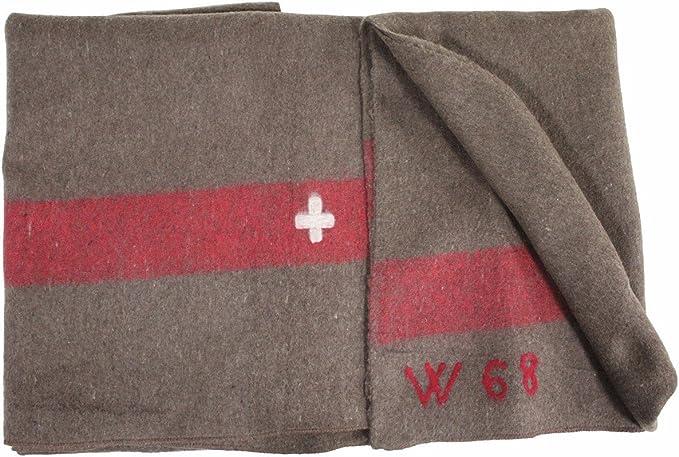 Wolldecke Armeedecke Militär Decke Pferdedecke Armee Bundeswehr 225 x 150 cm NEU