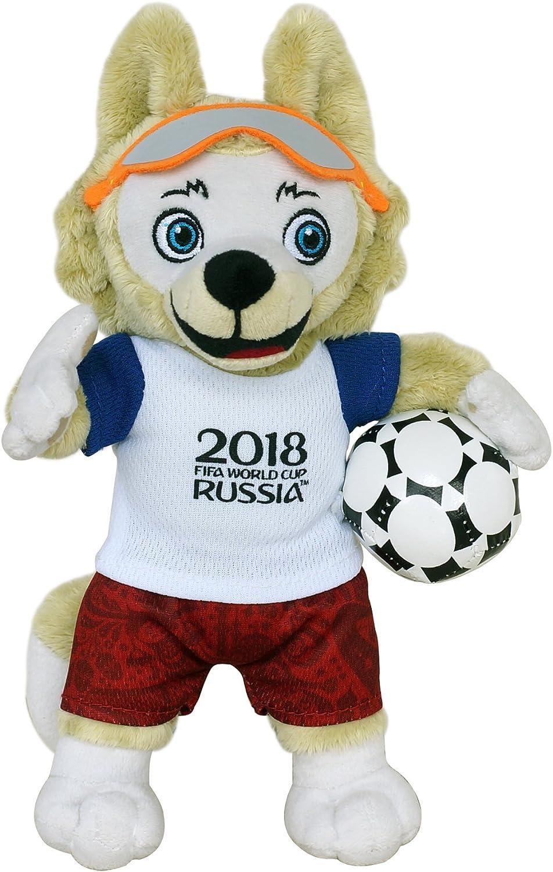 /Peluche mascotte zabivaka 45/cm Fifa Coupe du Monde 2018/