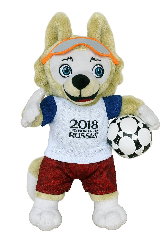 FIFA 2018 100102 zabivaka – Producto Oficial Mascota (Fútbol de WM) Peluche 25 cm
