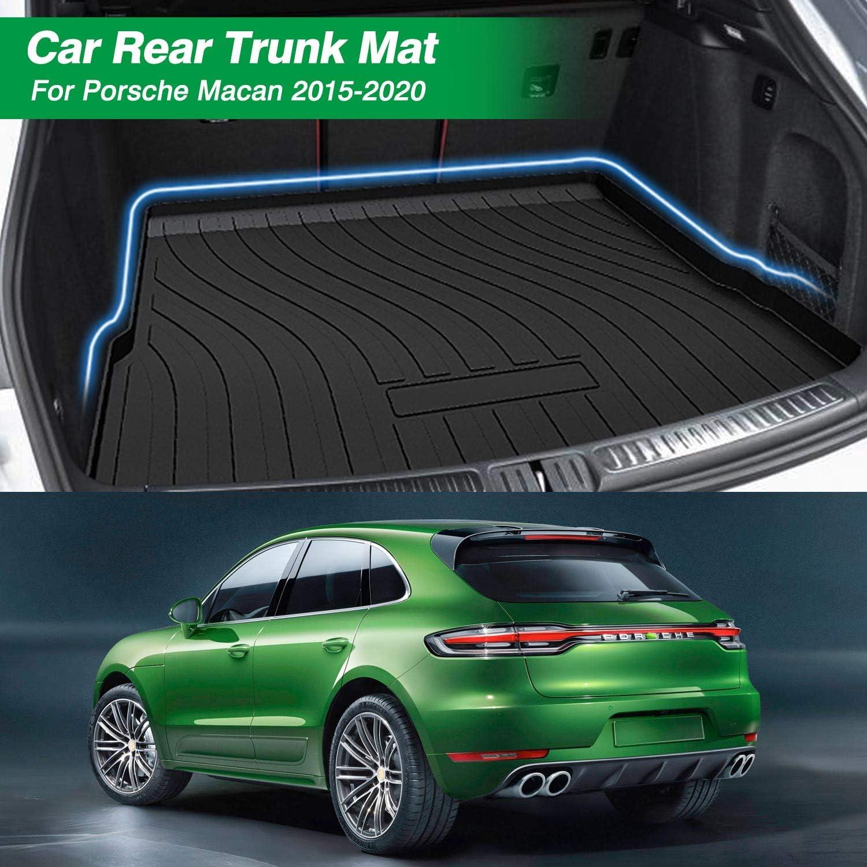 Mixsuper Cargo Liner for 2020 Macan TPO All Weather Rear Durable Odorless 3D Trunk Floor Mat Custom Fit 2015-2019 Porsche Macan