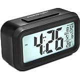 Despertador Digital con Alarma, Arespark Reloj Despertador de 5,3 Pulgadas.