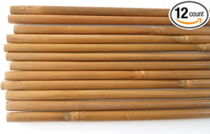12Pcs High Quality Bamboo Shaft for DIY Bamboo Arrow Archery Hunting Recurve Bow