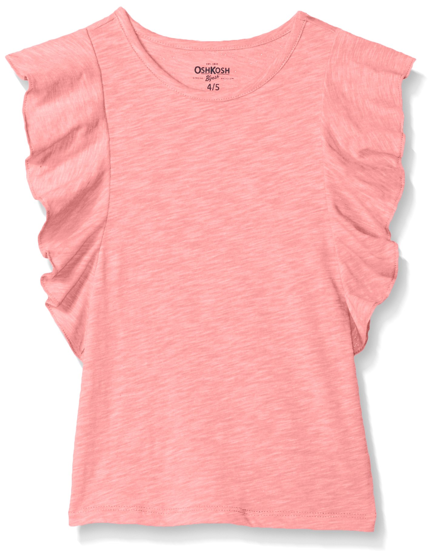 Osh Kosh Girls' Toddler Fashion Tops, Bubble Pink, 2T