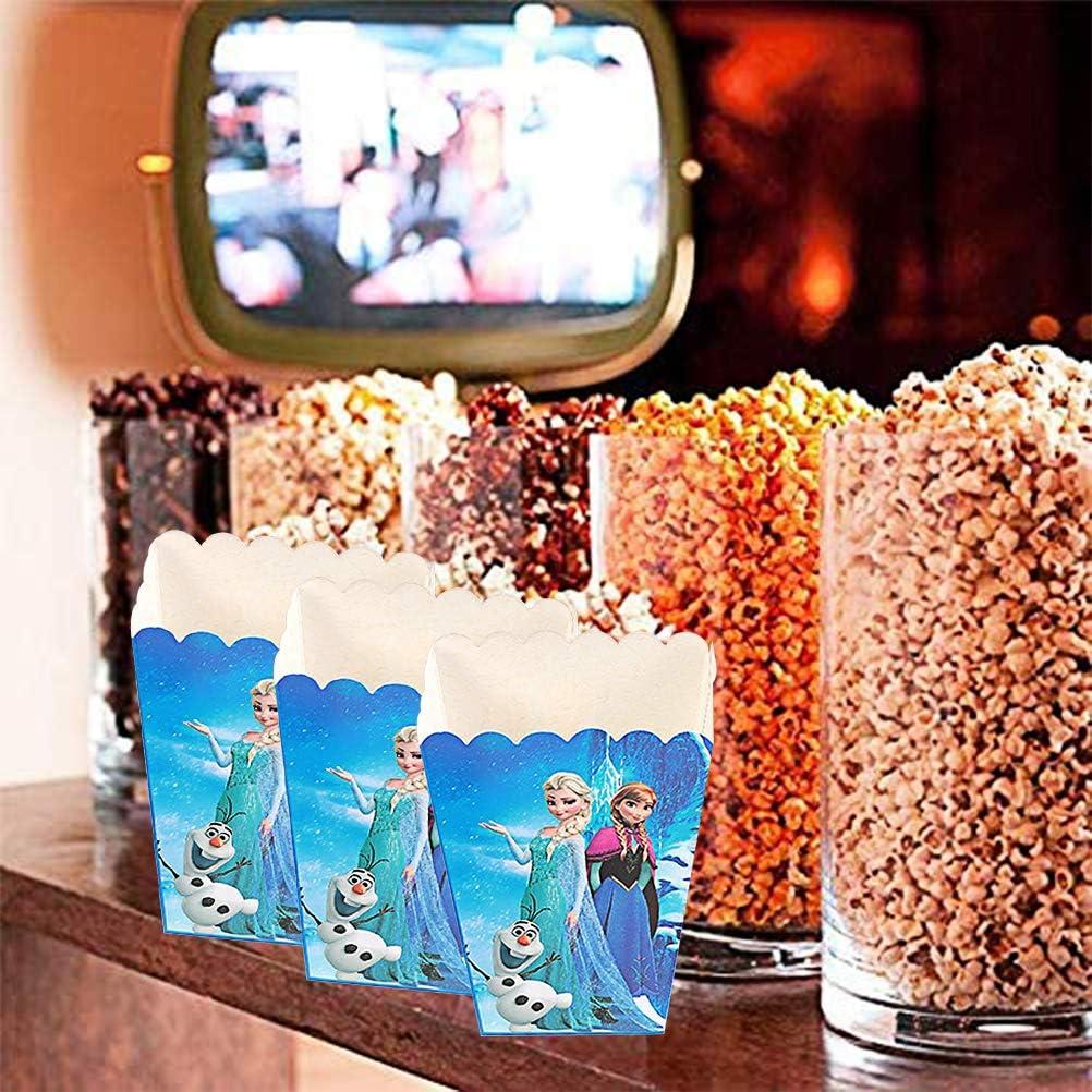 th/é/âtre et Cadeaux ZSWQ 24PCS bo/îtes de f/ête Sac de f/ête pour Enfant Bo/îtes /à Popcorn pour Enfants Anniversaire th/ème Soir/ée cin/éma Carnaval