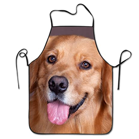 cool originality apron a dog with a tongue sticking out outdoor cooking cooking apron for boyfriends
