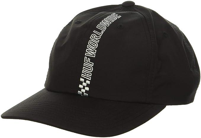 22b26d5e113 HUF Men s Pole Position CV 6 Panel HAT Black