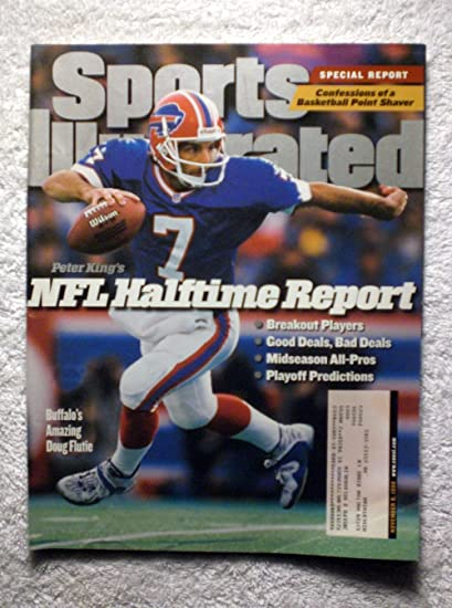 cheap for discount 35556 6b0ce Amazon.com: Doug Flutie - Buffalo Bills - Sports Illustrated ...