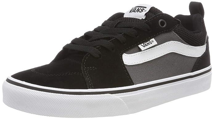 Vans Filmore Sneakers Herren Suede/Canvas Schwarz/Grau (Black/Pewter)