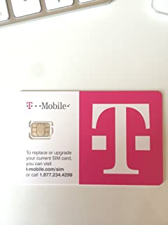 T Mobile Nano SIM Card For Any Unlocked GSM Phone No Annual Contract