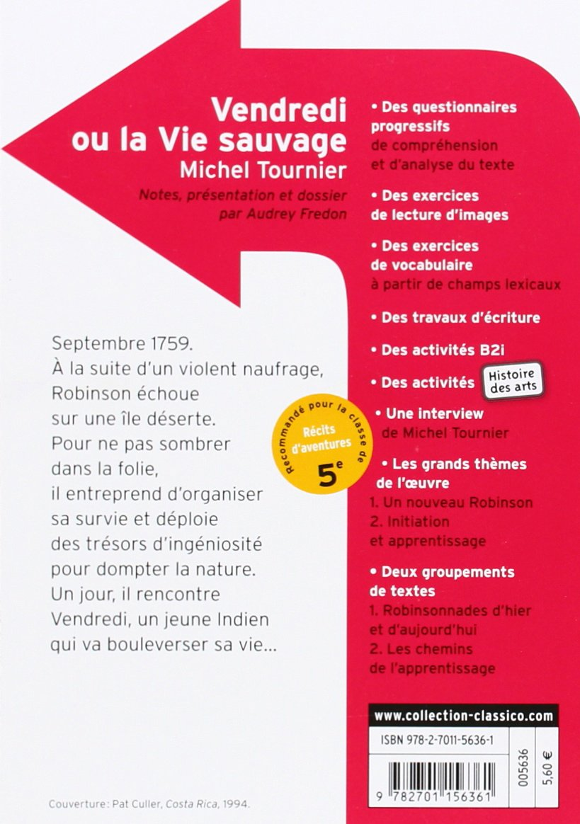 Amazon Fr Vendredi Ou La Vie Sauvage Michel Tournier