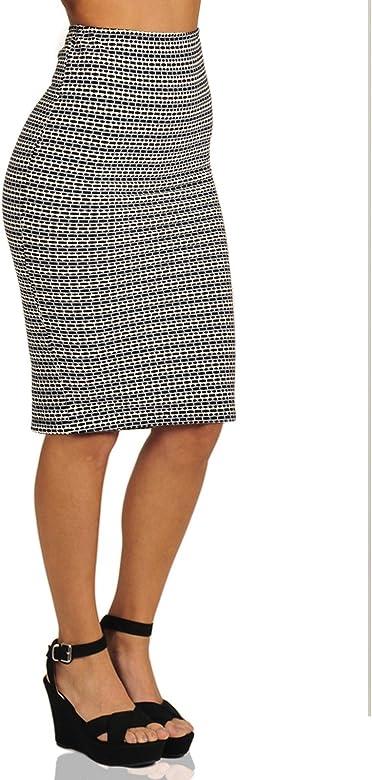 Springfield 6888615, Falda Para Mujer, Multicolor (Grey), M ...
