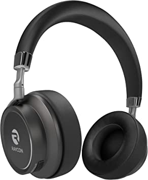 Amazon Com Raycon H50 Bluetooth Headphones Over Ear Wireless Headset Hi Fi Stereo Audifonos Bluetooth W Built In Mic Wired Mode Pc Cell Phones Tv Home Audio Theater