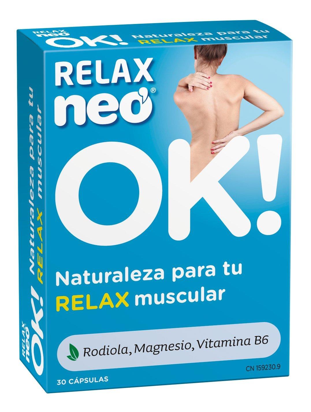 Neo Relax, Complemento Alimenticio, 30 Cápsulas: Amazon.es: Salud y cuidado personal