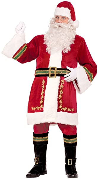 Amazon.com: Forum Novelties Premium de Classic de Papá Noel ...