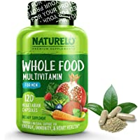 Naturelo Whole Food Multivitamin for Men 120 Capsules