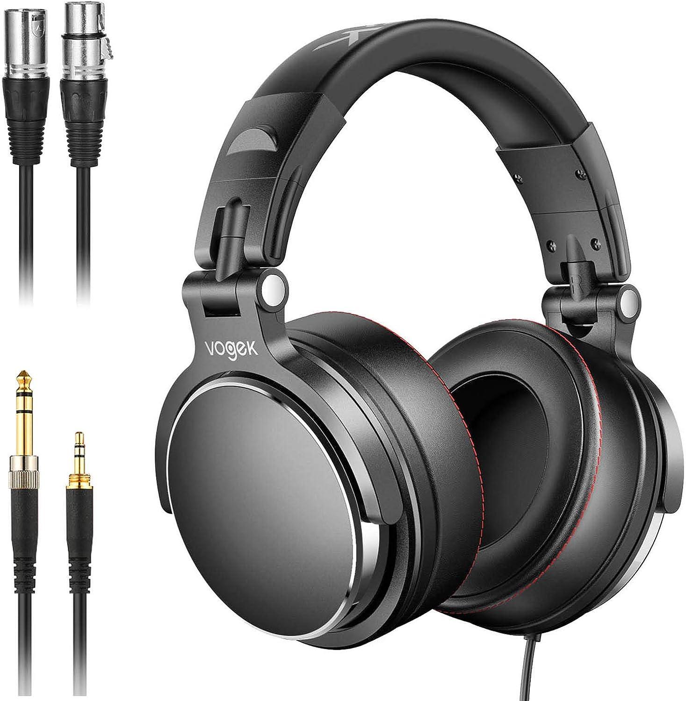 Vogek Over-Ear DJ Headphones