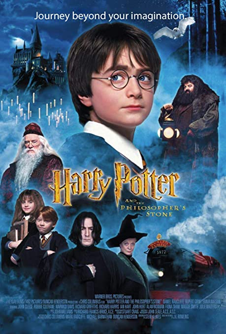 Perfect A4 HARRY POTTER AND THE PHILOSOPHER'S STONE' MOVIE POSTER ...