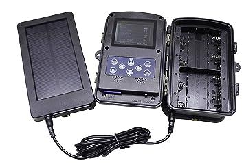 Express Panda® El panel solar 2500 mah batería solar del cargador para las cámaras de la caza y del juego del rastro