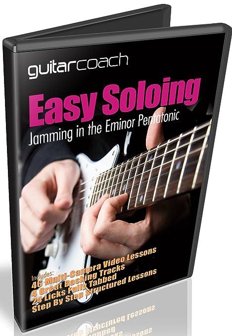 Learn Guitar Soloing improvisar: crear y único Guitar Solos – incluye 46 paso por paso