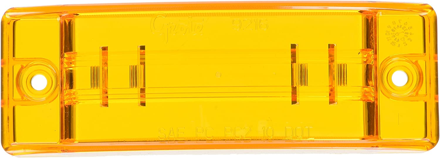 Grote 99843 Yellow Stop Tail Turn Replacement Lenses 7 School Bus Lens