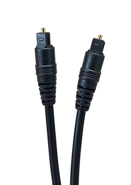 Micro Connectors, Inc. 3 feet TOSLINK Optical Digital Audio Cable (M06-826