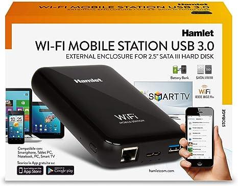 Hamlet HXD25WIFI caja para disco duro externo 2.5